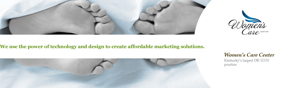 We use the power of technology and design to create affordable marketing solutions. Women's Care Center